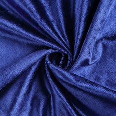 "5 Yards | 65"" Wide Royal Blue Velvet Fabric Bolt"