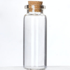"2.5"" Perfectly Petite Clear Favor Bottle 12/pk"