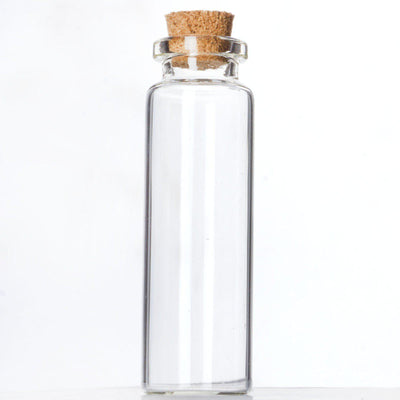 "2.75"" Perfectly Petite Clear Favor Bottle 12/pk"