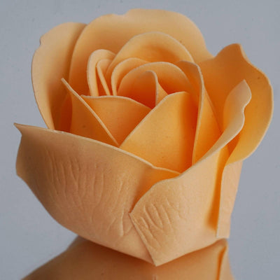 Wholesale Heart Rose Petal Soap Wedding Party Gift Favor Decoration - Peach