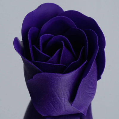Wholesale Heart Rose Petal Soap Wedding Party Gift Favor Decoration - Purple