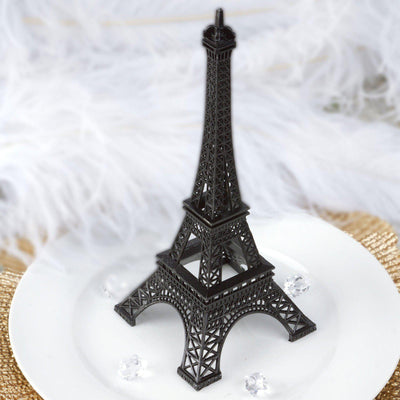 "10"" EIFFEL Tower Wedding Party Event Tabletop Centerpiece Decoration - BLACK"