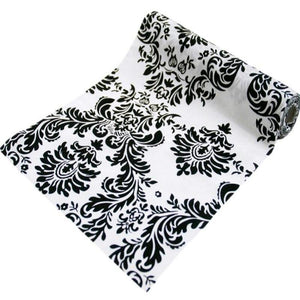 "Damask Fabric by the Yard | 12"" x 10 Yards 