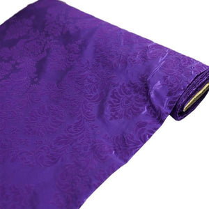 "54"" x 10 Yards Purple Taffeta Velvet Upholstery Flocking Fabric Bolt"