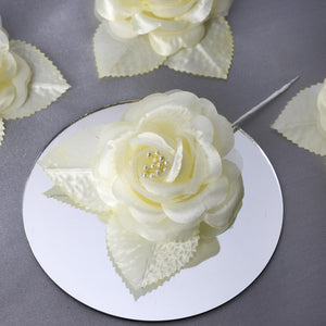 12 ACCENT Bellissimo Craft Roses - Yellow