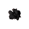 60 Black Mini Paper Rose Flowers - Clearance SALE