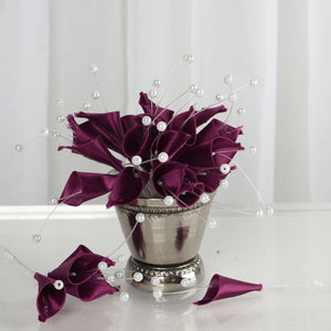 72 EXTRA HIGHLIGHTS Craft Lilies - Eggplant