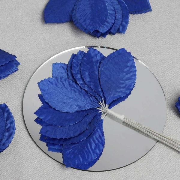144 Royal Blue Burning Passion Leaves