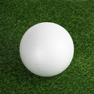 "24 x Customizable PARTY BALL - 4"" White Styrofoam"