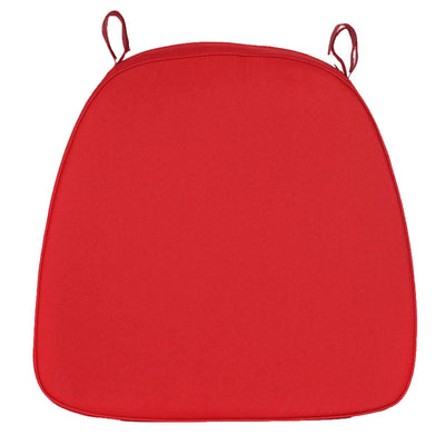"2"" Thick Red Chiavari Cushion for Beechwood Chairs"