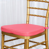 "CORAL Chiavari Chair Cushion for Wood Resin Chiavari Chairs Party Event Decoration - 2"" Thick"