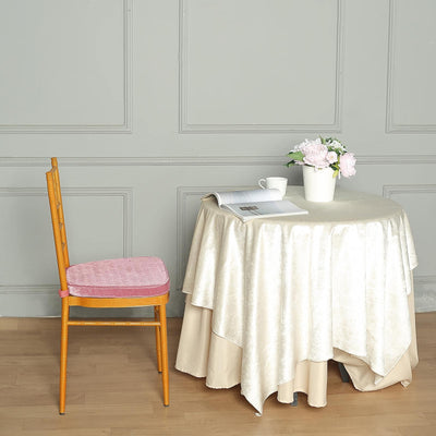 "2"" Thick Dusty Rose Chair Cushion Pad 
