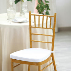 "2"" Thick White Chair Cushion Pad 