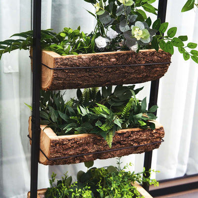 3.5 Ft Vertical Raised Garden Bed, 4 Tiered Planter Stand For Patio Balcony Garden