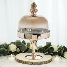 "19"" Champagne Cake Dome 