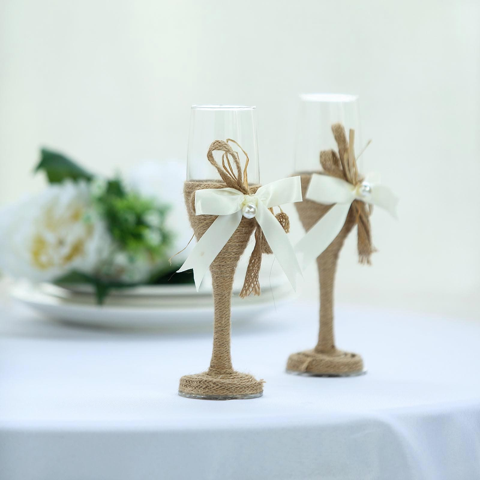 Wedding Champagne Flutes Champagne Glasses Tableclothsfactory