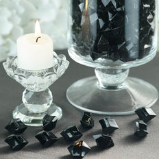 300 Pack Black Large Acrylic Ice Bead Vase Fillers Table Decoration