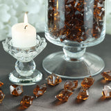300 Pack Chocolate Acrylic Ice Table Vase Decoration
