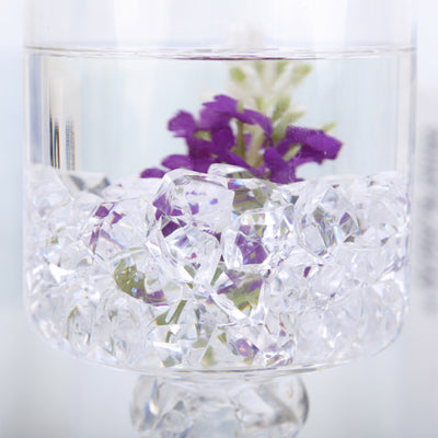 300 Pack Clear Large Acrylic Ice Bead Vase Fillers Table Decoration