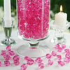 300 Pack Fushia Large Acrylic Ice Bead Vase Fillers Table Decoration