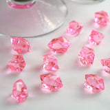 300 Pack Pink Large Acrylic Ice Bead Vase Fillers Table Decoration