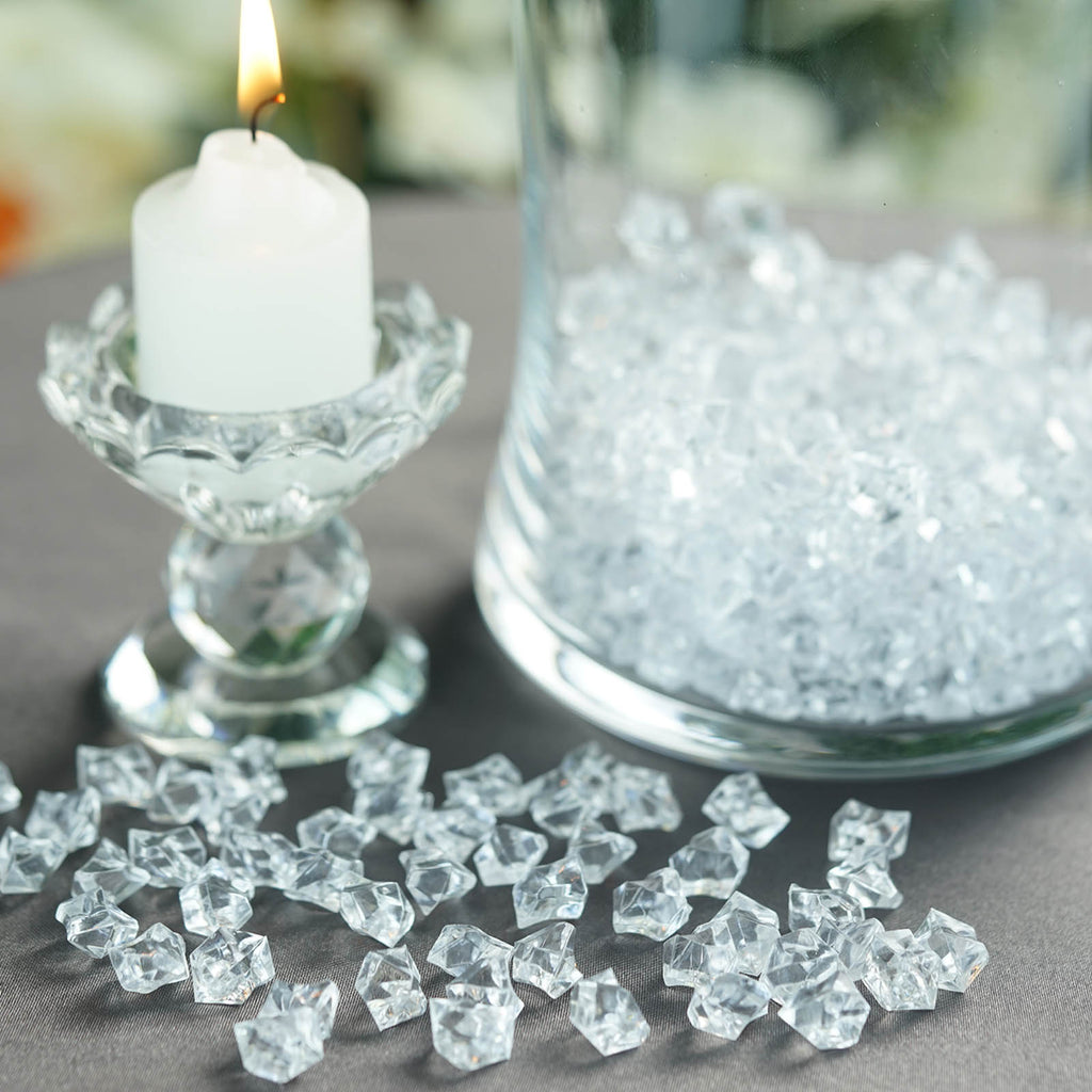 Clear Mini Acrylic Crystals Vase Fillers Tableclothsfactory