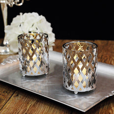 Candle Holder Set, Votive Candle Holder Set, Wedding Table Centerpiece