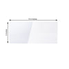 Clear Plexiglass Sheet, DIY Acrylic Sheets Sign Board With Protective Film - 3mm Thick