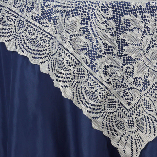 """Wholesale Flowers For Weddings Events: 54""""x54"""" Wholesale Flower Design LACE Overlay For Wedding"""