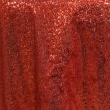 "72"" Premium Stripe Sequin Square Overlay For Wedding Catering Party Table Decorations - Red"