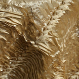 "72""x72"" Beverly Hills Waves Overlays - Champagne Satin"
