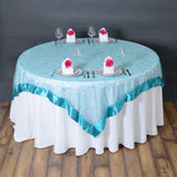 72 Overlay Embroider - Turquoise