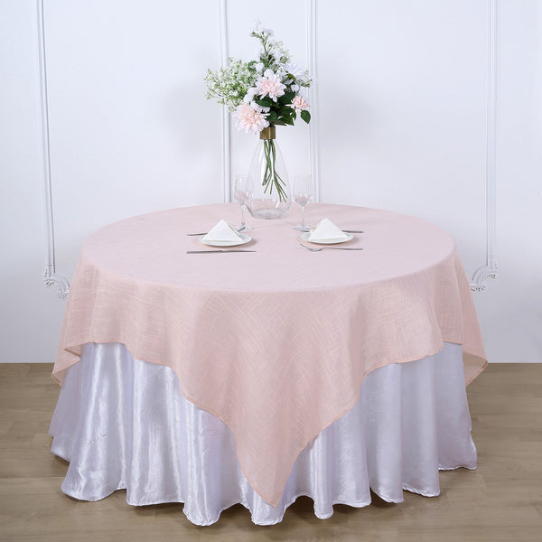 "72""x72"" Linen Square Overlay 