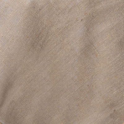 "72""x72"" Authentic Rustic Burlap Overlay - Natural Tone"