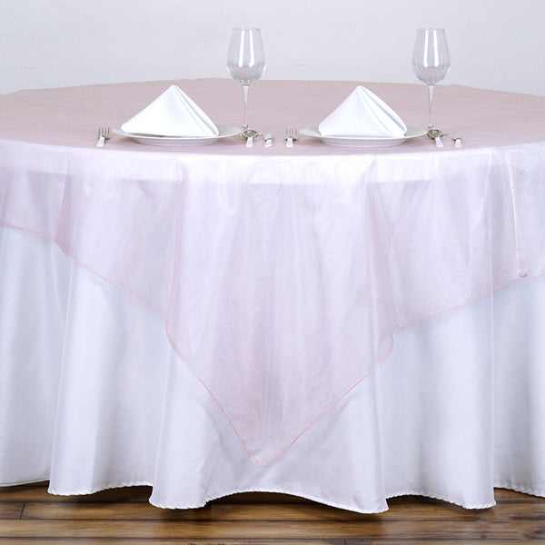 "72"" x 72"" Rose Gold 