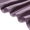 "72"" x 72"" Amethyst Seamless Square Satin Tablecloth Overlay"