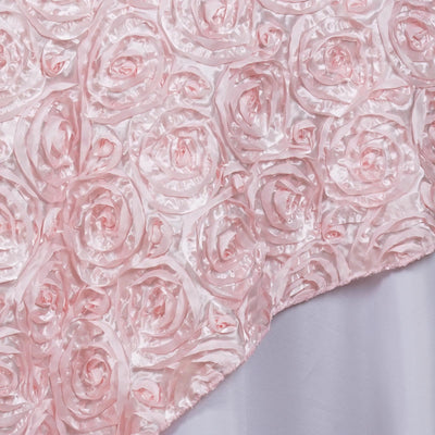 "85"" x 85"" Rose Gold 