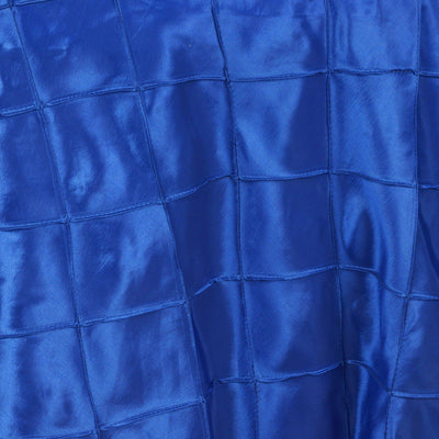 "85"" Overlay Pintuck - Royal Blue"
