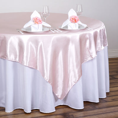 "90"" x 90"" Rose Gold 