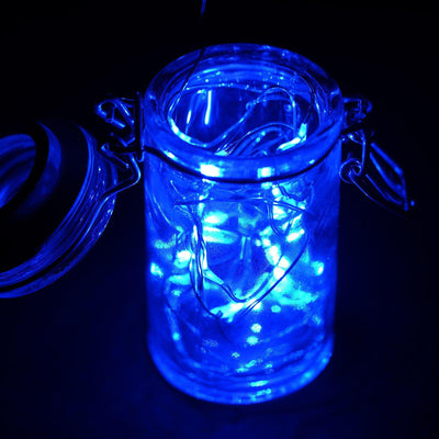 6FT Wholesale Blue Wedding Party Decor Outdoor LED Light Lamp Fairy Strings