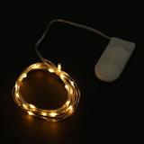 7.5 FT Clear Starry String Lights Battery Operated with 20 Micro Bright LEDs
