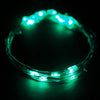 "90"" Green Starry String Lights Battery Operated with 20 Micro Bright LEDs"