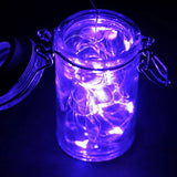 6FT PURPLE Wedding Party Decor Outdoor LED Fairy String Light Lamp