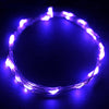 "90"" Purple Starry String Lights Battery Operated with 20 Micro Bright LEDs"