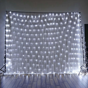 20FT 600 LED Sequential String Light For Wedding Party Event Backdrop Decoration - White