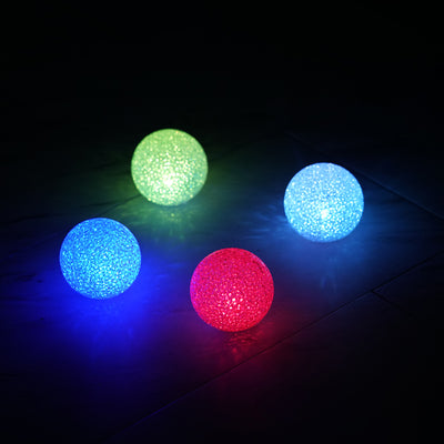 "4 Pack | 3"" Color Changing Portable LED Centerpiece Ball Lights 