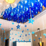 10 Pack | 12'' Royal Blue Latex LED Light Up Balloons
