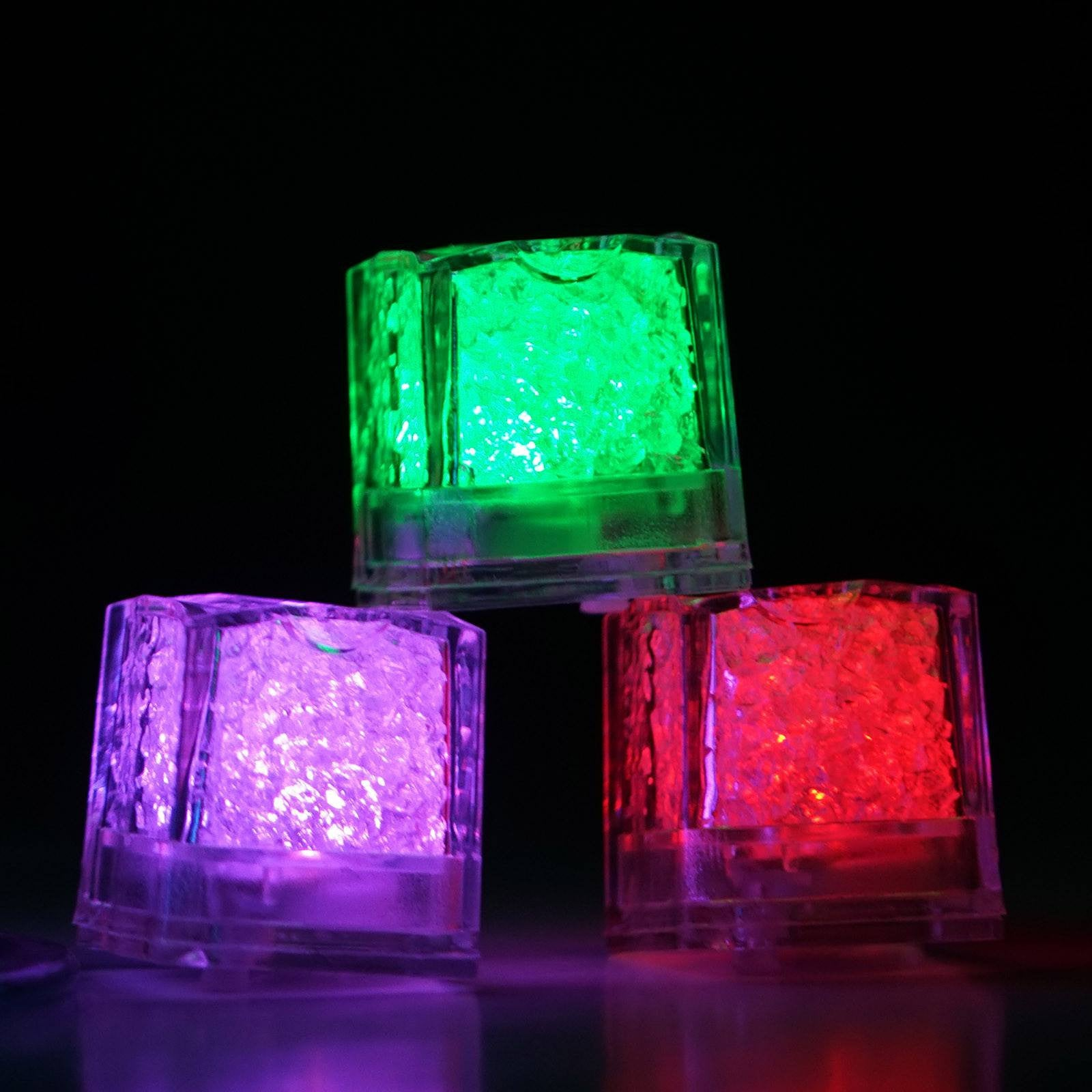 12 Pack 7 Color Changing Light Up Led Submersible
