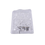 12 Pack White Submersible Waterproof LED Ice Cubes With Flash & Blink Modes
