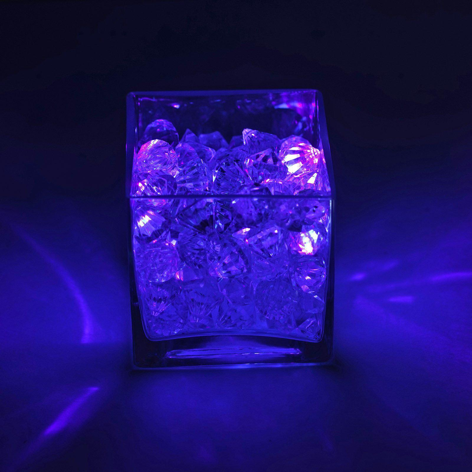 Celebrate your special day with unique Submersible LEDs and decorative wedding lights offered by Tablecloths Factory.com. Use our Light The Way Floralyte Vase L